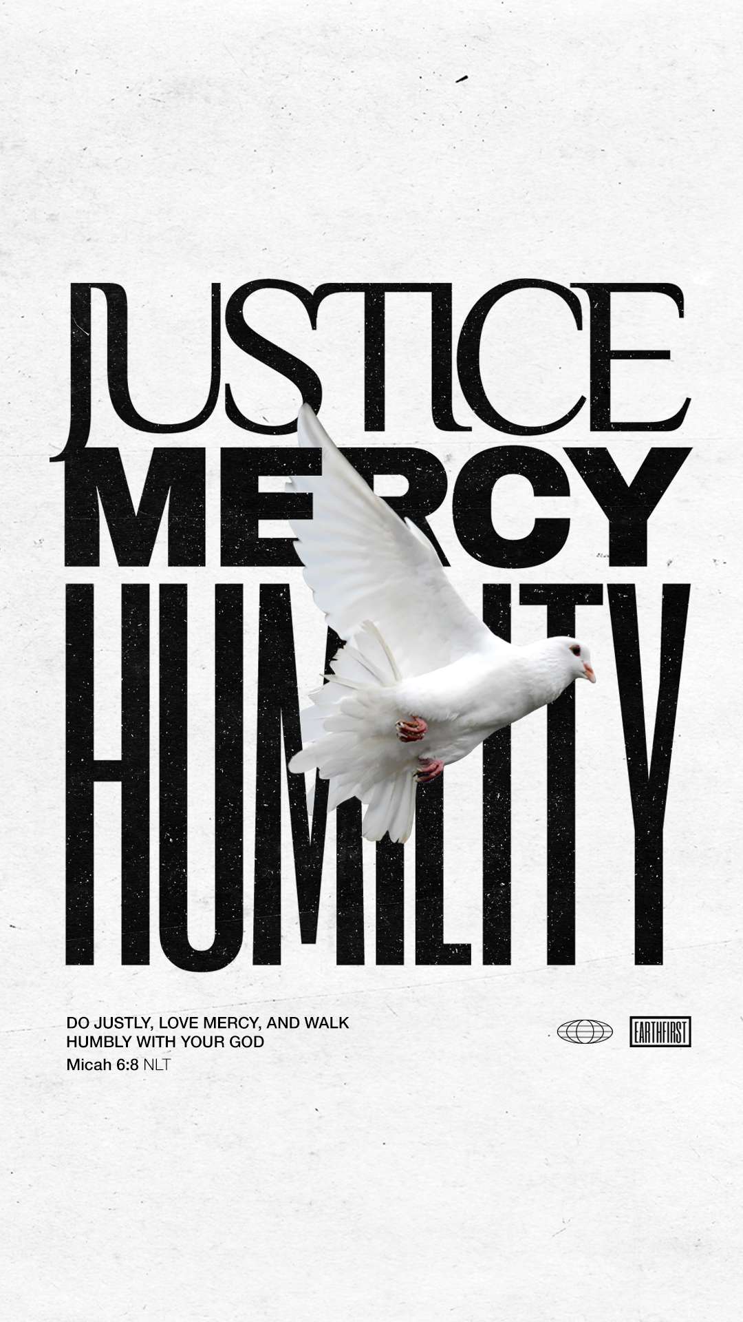 Justice, Mercy, Humility